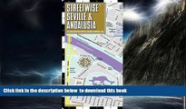 liberty books  Streetwise Seville Map - Laminated City Center Street Map of Seville, Spain