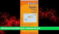 Read books  Michelin Spain: Balearic Islands Map 579: (Mallorca, Ibiza, Menorca) (Maps/Regional