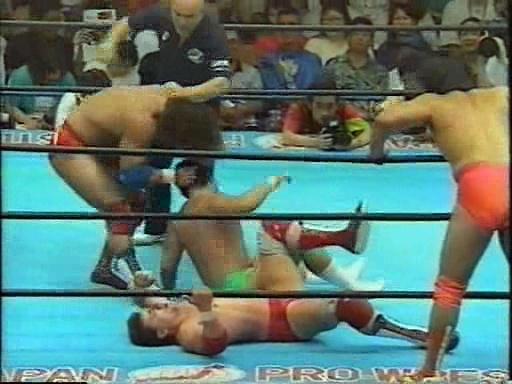 Kobashi/Asako vs Can-Am Express 20/08/93