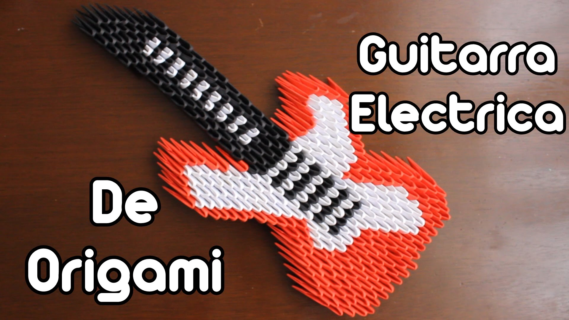 ORIGAMI 3D ELECTRIC GUITAR