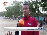 أندية الكرة الصومالية تلجأ للملاعب الترابية