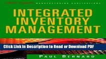 Read Integrated Inventory Management (The Oliver Wight Companies) Free Books
