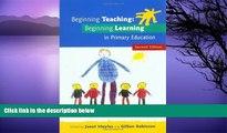 Big Sales  Beginning Teaching: Beginning Learning  Premium Ebooks Online Ebooks