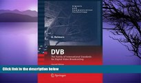 Buy NOW  DVB: The Family of International Standards for Digital Video Broadcasting (Signals and