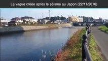 Mini tsunami près de la centrale de Fukushima après le tremblement de terre au Japon