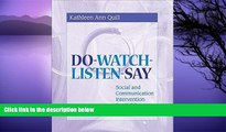Buy NOW  Do-Watch-Listen-Say: Social and Communication Intervention for Children with Autism