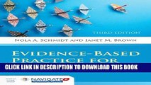 [PDF] Evidence-Based Practice For Nurses: Appraisal and Application of Research (Schmidt, Evidence