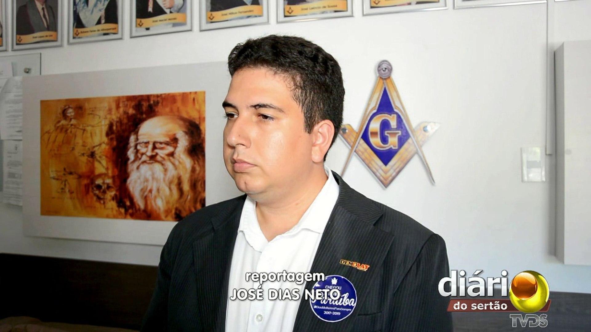 Cajazeirense pode ser 1º sertanejo a ocupar cargo de mestre adjunto dos DeMolays da Paraíba