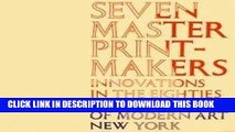 Ebook Seven Master Printmakers: Innovations in the Eighties Free Read