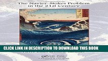 [READ] Ebook The Navier-Stokes Problem in the 21st Century Free Download