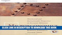 [PDF] Microeconomics: Neoclassical and Institutional Perspectives on Economic Behaviour Full Online