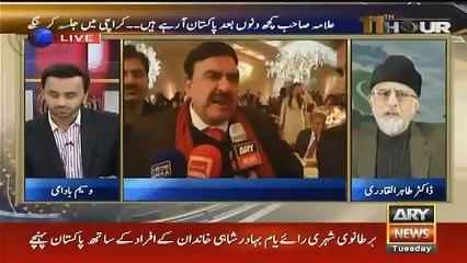 11 Hour – 22nd November 2016, Shaykh ul Islam Dr Muhammad Tahir ul Qadri's Latest Interview with Waseem Badami