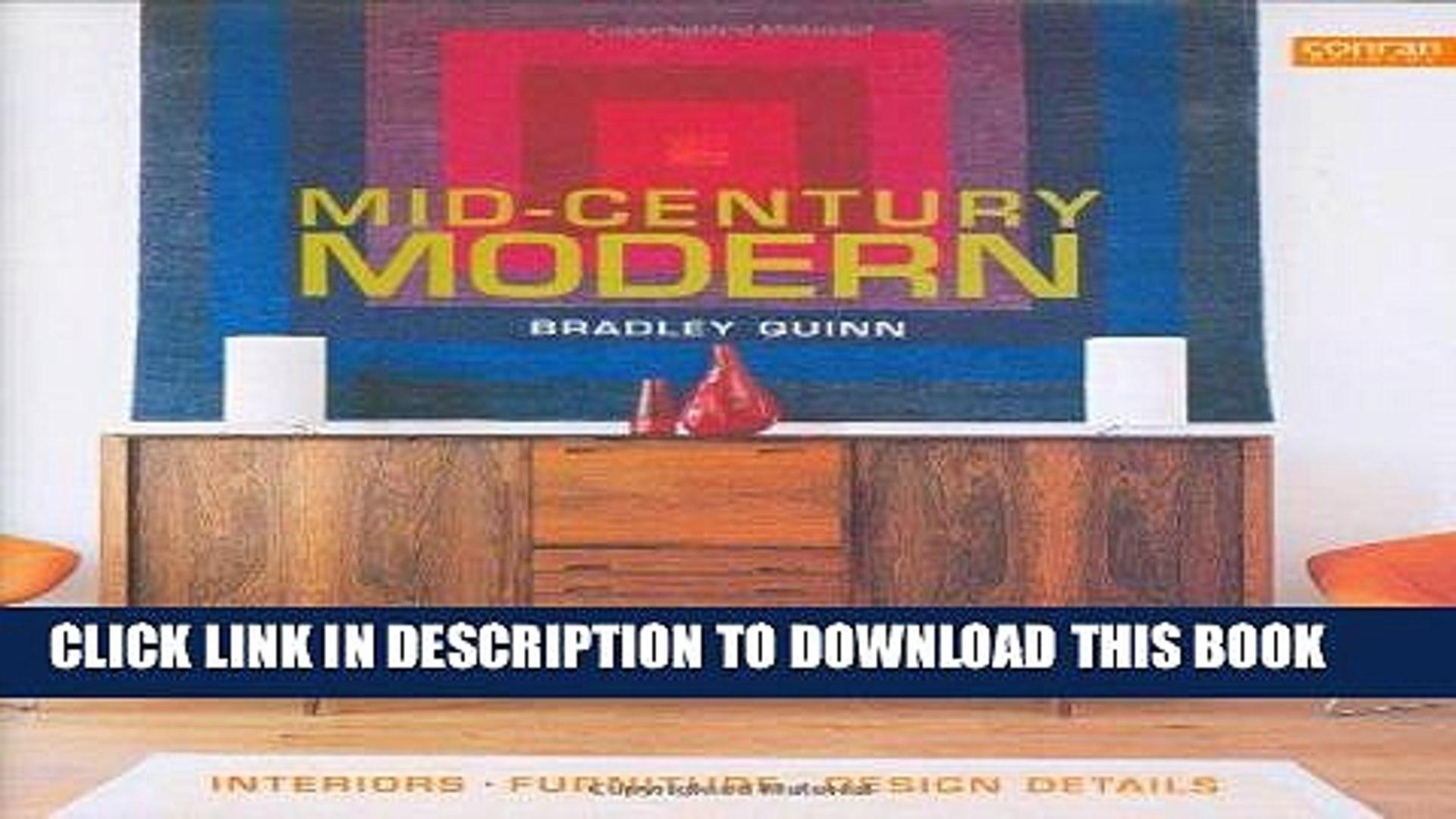 Best Seller Mid-Century Modern: Interiors, Furniture, Design Details (Conran Octopus Interiors)