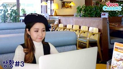 Yooncharmi Makeup and Reviewing 3 Cushion윤쨔미도 3통이나 쓴 인생 쿠션 소개! ( 1인5역 병맛 상황극- 쿠션으로 위기탈출! ) with 베리떼 오로라 커버 쿠션 - 윤쨔미 메이크업
