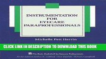 Best Seller Instrumentation for Eyecare Paraprofessionals (The Basic Bookshelf for Eyecare