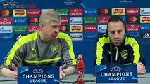 Arsene Wenger and Ospina Full Pre-Match Press Conference of Arsenal vs PSG - YouTube