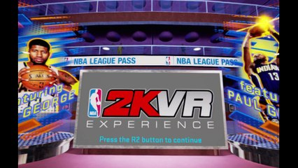 First Look Gameplay Footage de NBA 2KVR Experience