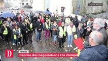 Tarbes : Reprise des négociations à la clinique de l'Ormeau