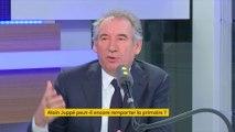 """Primaire à droite : si François Fillon l'emporte, François Bayrou va """"essayer de bâtir"""" un autre projet"""