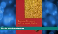 Big Sales  Teaching Literature and Language Online (Options for Teaching (Paperback))  Premium