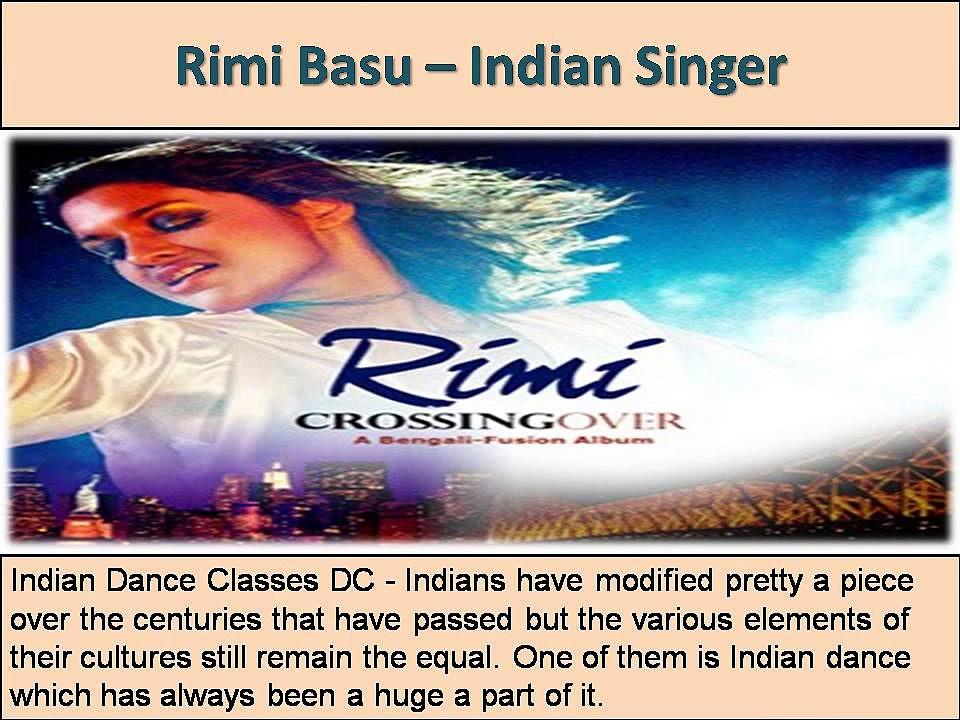 Take Amazing Indian Dance Classes Virginia VA by Rimi Basu