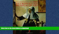 READ BOOK  Masterpieces of The Metropolitan Museum of Art (Metropolitan Museum of Art Series)