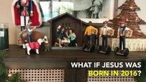 Une crèche de Noël version hipster : si Jésus était né en 2016