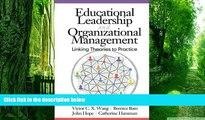 PDF Organizational Behavior 1: Essential Theories of