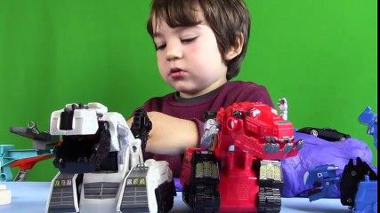 Dino Trucks Toys! Die-cast DinoTrux Scrapadactyl UNBOXING + PLAY
