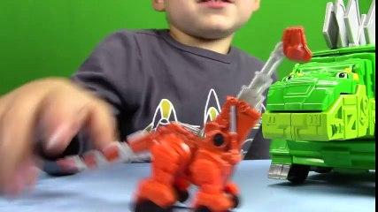 Dino Trucks Toys! DinoTrux Skya UNBOXING + Surprise Eggs