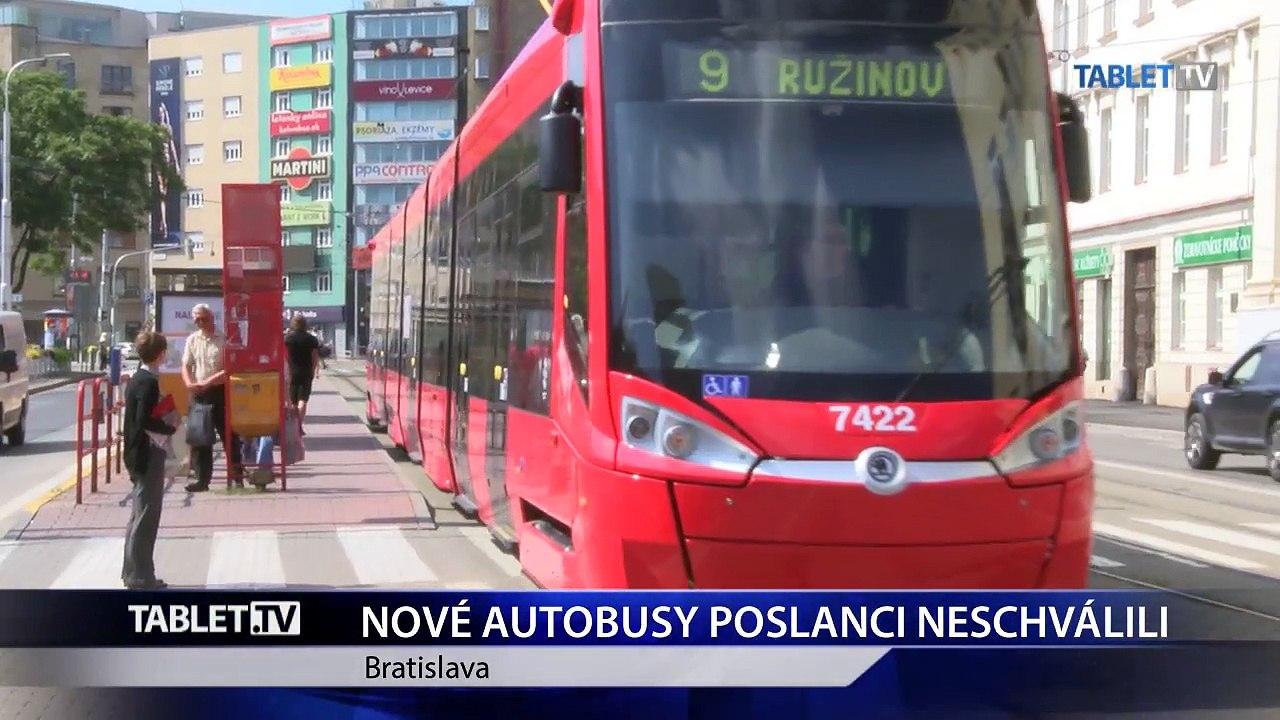 O 88 nových autobusoch pre Bratislavu rozhodnú v decembri