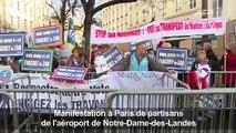 Manifestation de partisans d'un aéroport à Notre-Dame-des-Landes