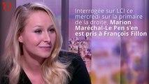 Marion Maréchal-Le Pen s'en prend à « l'escroquerie Fillon »