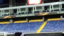 Des supporters d'Anderlecht assistent au dernier entraînement à Bakou (VIDEO)