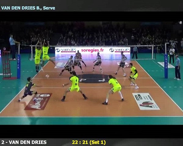 Point du Libéro Nicolas Rossard - Spacer's Volley Toulouse
