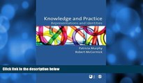 Buy NOW  Knowledge and Practice: Representations and Identities (Published in association with The