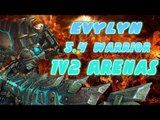 Evylyn - 1v2 Arenas Arms Warrior on the 5.4 PTR - Warrior Destruction! , WOW MOP 5.4 PTR Warrior PVP