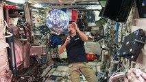À bord de la Station spatiale internationale, Thomas Pesquet raconte son quotidien