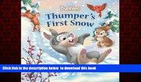 {BEST PDF |PDF [FREE] DOWNLOAD | PDF [DOWNLOAD] Disney Bunnies: Thumper s First Snow FOR IPAD