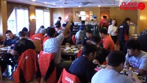 Rugby:Fidji-Japon à Vannes: le cérémonial riz