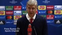 Arsene Wenger reaction Arsenal vs PSG