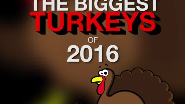 Golf's Biggest Turkeys Of 2016