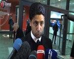 Arsenal / PSG - La reaction de Nasser Al-Khelaïfi