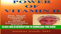 [PDF] Epub Power Of Vitamin D: A Vitamin D Book That Contains  The Most Scientific, Useful And
