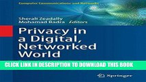 [READ] Online Privacy in a Digital, Networked World: Technologies, Implications and Solutions