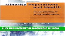 Ebook Minority Populations and Health: An Introduction to Health Disparities in the U.S. Free