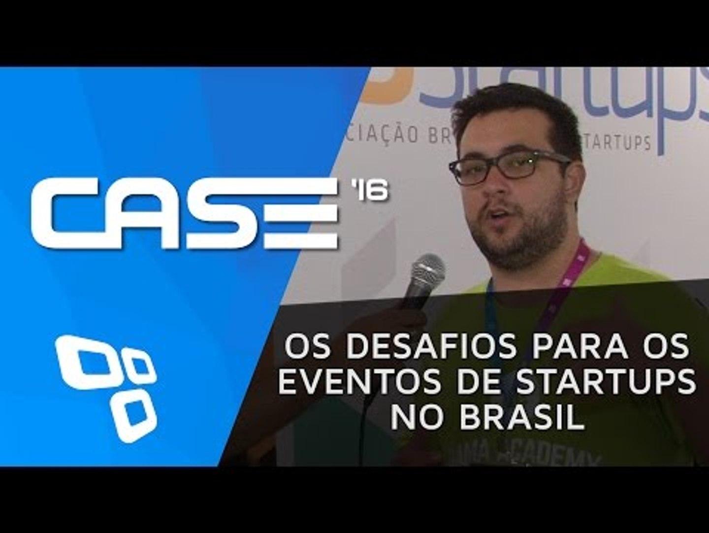 CASE '16 - Os desafios para os eventos de Startups no Brasil | Entrevista TechStars e ABStartup