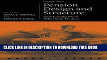 MOBI Pension Design and Structure: New Lessons from Behavioral Finance (Pension Research Council