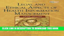 MOBI Legal and Ethical Aspects of Health Information Management (Health Information Management
