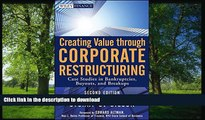 READ  Creating Value Through Corporate Restructuring: Case Studies in Bankruptcies, Buyouts, and